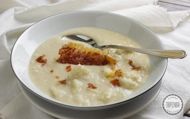 Zupa Fasolowa Z Lazankami Przepis Tapenda Pl