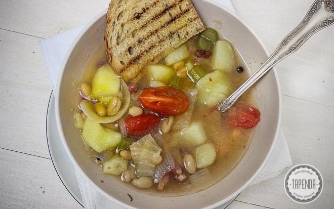 Zupa Minestrone Kuchnia Wloska