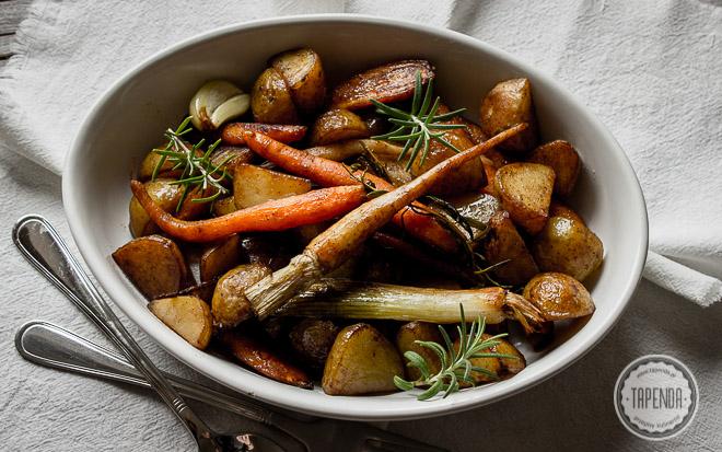 Karmelizowane warzywa z patelni
