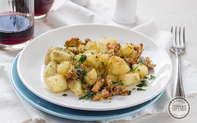 Kurki z ziemniakami z patelni