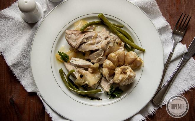 Potrawka z kurczaka Escabeche