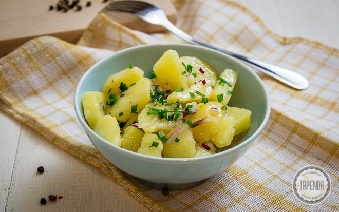 Salatka Ziemniaczana Kartoffelsalat Przepis Tapenda Pl