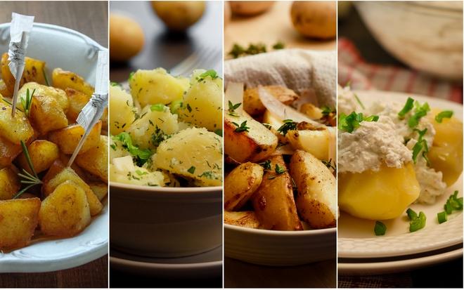 Ziemniaki na 4 sposoby